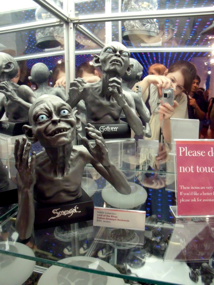 toys at FAO, but also weird stuff for LotR fans