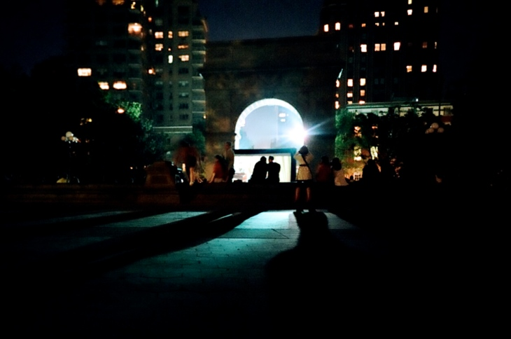 Washington Square Park (at night!)