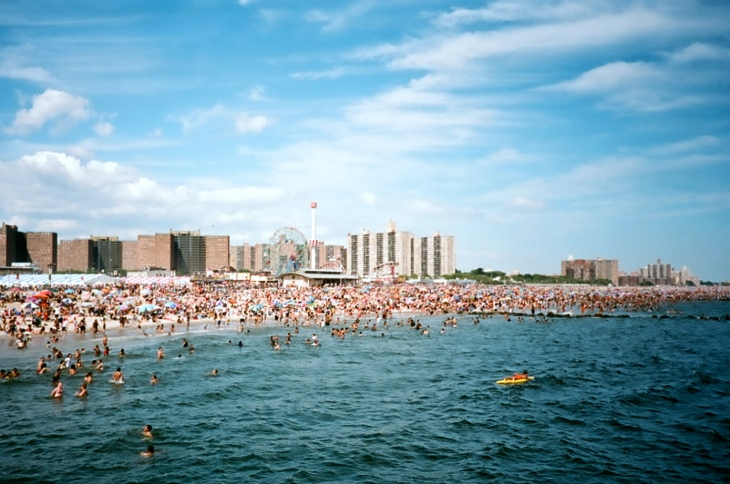 Coney Island from the pier